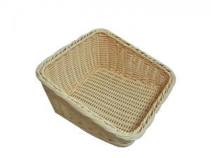 China Anti Corrosion Rattan Storage Baskets Handicraft For Vegetable on sale