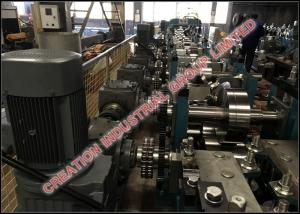 China Automatic Galvanized Steel C & Z Purlin Forming Machine With Gear Boxes Transmission System on sale