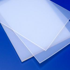 China Recycled PFA Plastic Sheet 2.10g/cm³ High Resistance Heat Exchangers on sale