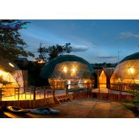 Luxury 6m Diameter PVC Geodesic Dome Exhibition Tent For Hotel / Home Live