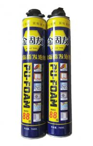 China Interior Automotive Polyurethane Adhesive Fill And Seal Expanding Foam Sealant 750ml on sale