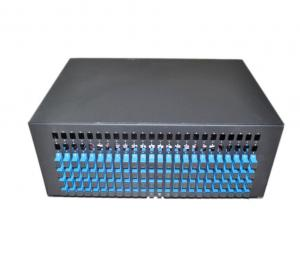 China 19 inch  Rack-mount ODF Fiber Optic Patch Panel fixed type 12-144 ports FC,SC,LC,ST adapter on sale