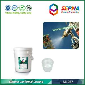 China Quality Solvent Free Silicone Conformal Coating for PCB protection SI1067 on sale