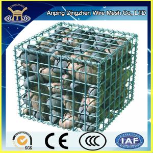China easy install high quality galvanized welded wire mesh gabion on sale