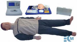 China Senior automatic CPR manikin with large screen LCD - KM/CPR680, CPR for adults on sale