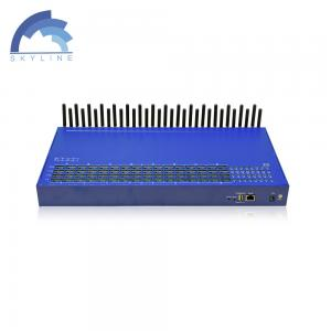 China Hot Sale SK GSM 32-128 VoIP Gateway with inter calling, Voice and SMS terminal on sale
