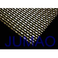 China Wall Coverings Architectural Woven Metal Mesh With High Temperature Resistant on sale