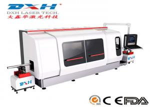 China 500W CNC Laser Metal Cutting Machine / Laser Tube Cutting Machine Chiller Coolding Type on sale