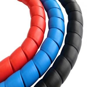 China Factory Price High Pressure PP Spiral Cable Protection Pipe Hose Sleeve on sale