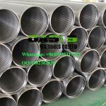 APT STC thread end wire wrapped continuous slot Johnson water well screens pipe