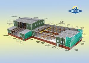 China Pre-Engineered Building With Light Steel Structure on sale