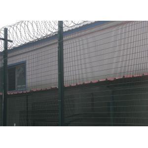 China chaud de système de barrière de la haute sécurité 358 entièrement plongé galvanisé, polyester elestrostaic a enduit on sale