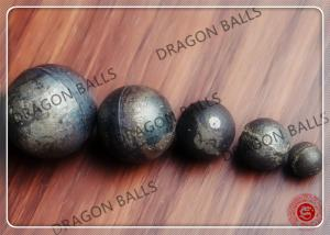 China Mid Chrome Industrial Grinding Balls Cast Iron High Surface Hardness on sale