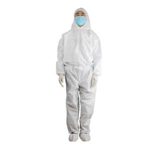 China Lightweight Isolation Disposable Protective Coverall With Flash Evaporation Technology on sale