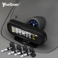 Factory Directly Sell Car TPMS USB Solar Power Tyre Pressure Monitoring System