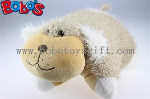 China Throw Pillows Soft Plush Stuffed Dog Outdoor Cushions on sale