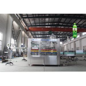 China Rotary Type Vegetable Juice Hot Filling Machine Beverage Bottle Filler Machine on sale