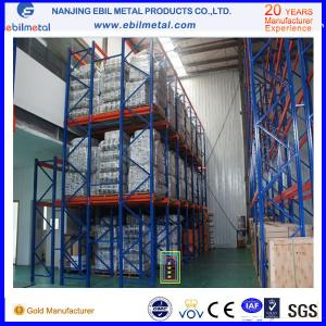 China Simple structure powder coated and galvanized Q235b steel Drive in Rack on sale