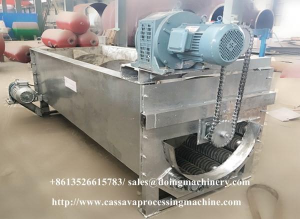 Automatic mechanical cassava peeling machine in China
