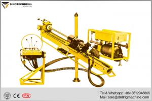 China Hydraulic Drilling Rigs , 360° Underground Drilling Angle Geotechnical Drill Rigs on sale