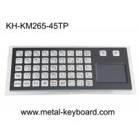 China PS/2 45keys 5VDC Panel Mount Metal Keyboard With Touchpad on sale