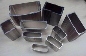 China anodizing aluminum extrusion electronic enclosure 6063 material for Industry on sale