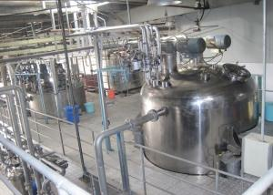 China Stainless Steel Liquid Detergent Production Line With Automatic Filling Machine on sale