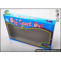 Eco Friendly Kids Toy Doll Corrugated Packaging Box With Pvc Window
