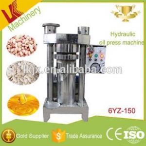 China lianke 6YZ-150 hydraulic peanut oil press machine kernel corn mini oil press avocado oil on sale