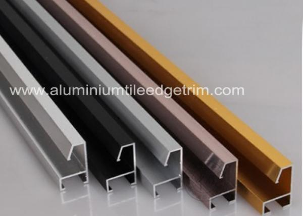 Customized Aluminium Picture Frame Mouldings Anodized Treatment ...