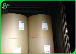 China 80 100 120 135 145gsm One Side Coated Paper , White Kraft Paper Roll In Reel / Sheets on sale