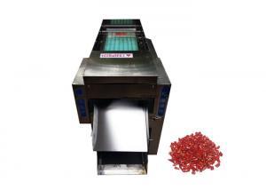 China 500kg/h Dry Red Chilli Stem Cutting Machine Chilli Stem Removing Machine on sale