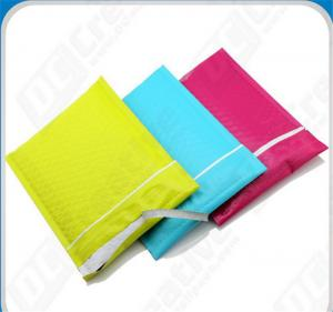 China Colored Polyethylene Bubble Mailer Bags , 6X10 #0 Express Mail Envelope on sale