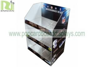 China Eco - Friendly 3 Tiers Acrylic Tabletop Display 4mm Acrylic Material SGS Approval on sale