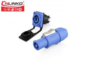 China Cnlinko Powercon 20A power connector, led display led screen power connector blue and gray on sale