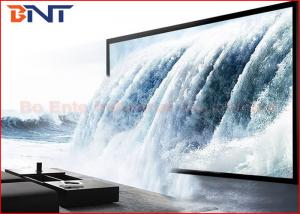 China Fashion 3D Front Projection Projector Screen Fixed Frame Projection Screen on sale