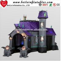 Big halloween inflatable haunted house for sale