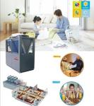 EVI air to water heat pump for cooling+heating