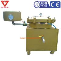 China Cheap fast filter, 50 kg per hour palm oil high pressure filter, peanut oil pressure filtration equipment on sale