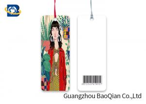 China Offset Printing Custom Printed Bookmarks PET / PP Material Multi Shape Choice on sale