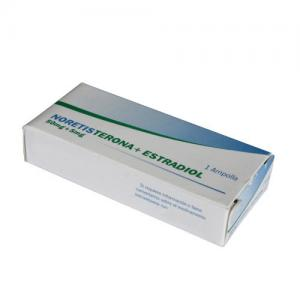 China Contraceptive Small Volume Parenterals 50mg + 5mg Estradiol Valerate Injection on sale