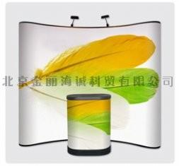 China Indoor advertising trade show booth exhibition pop up banner stands, custom size on sale