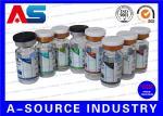 薬学の薬物のびん10mlのガラスびんはレーザーのホログラム+ CMYKの印刷を分類します
