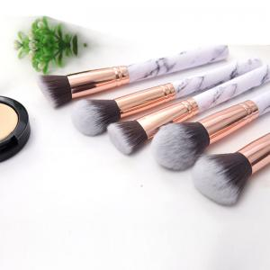 China OEM ODM White Handle Smudge Pro Makeup Brush Kit on sale