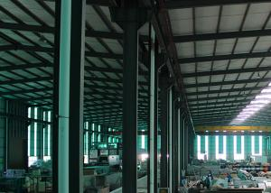 China Professional Galvanized Steel Greenhouse Frame Anti Fog Garden Glass For Tomato on sale