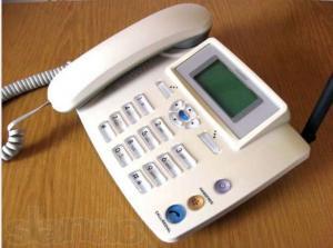 cdma fixed wireless home phone with sim card fm wireless landline