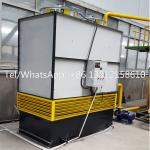 High efficiency water cooling system used for hydraulic oil
