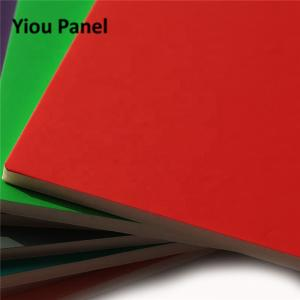 China Advertising Lightweight Foam Board 1220*2440mm / 900*2440mm Compact Size on sale