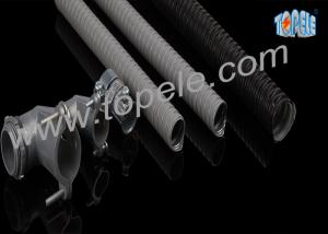 China PVC - Coated / Jacketed Steel Conduit Waterproof Liquidtight Flexible Tube on sale