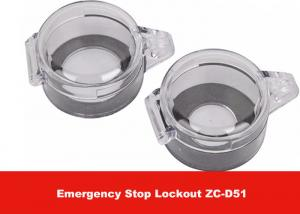 China 22mm Hole Diameter PC Electrical Switch and Button Emergency Stop Lockout on sale